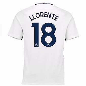 2017 / 18 Tottenham hjemme trøje (Llorente 18) - børn