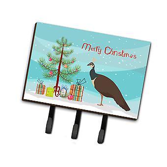 بياهين الهندية طاووس عيد الميلاد المقود أو حائز المفتاح