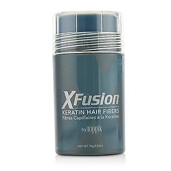 Xfusion Keratin Hair Fibers - # Medium Blonde - 15g/0.53oz
