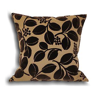 Riva Home Cherries Faux Velvet Cushion Cover