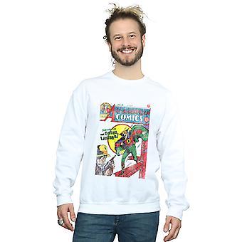 DC Comics mænds Justice League alle amerikanske tegneserier udstede 16 dække Sweatshirt