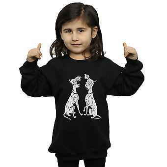Disney Mädchen 101 Dalmatiner Familie Sweatshirt