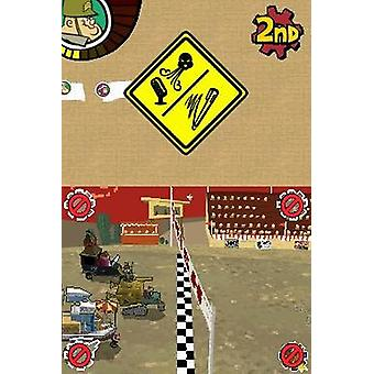 Wacky races Crash Dash (Nintendo DS)-fabriken förseglad
