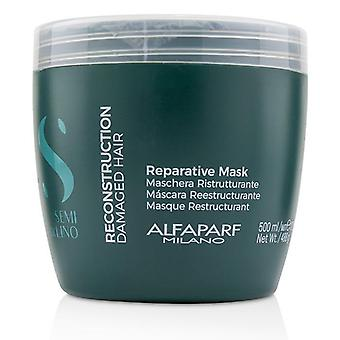 Alfaparf Semi Di Lino Reconstruction Reparative Mask (damaged Hair) - 500ml/17.2oz