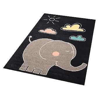 Kids carpet tapestry elephant Jumbo 120 x 170 cm. Carpet nursery