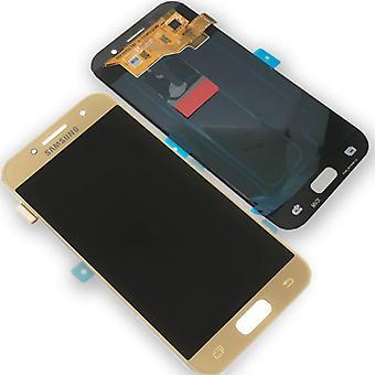 Дисплей LCD полный набор GH97-19732 B золото для Samsung Галактика A3 A320F 2017