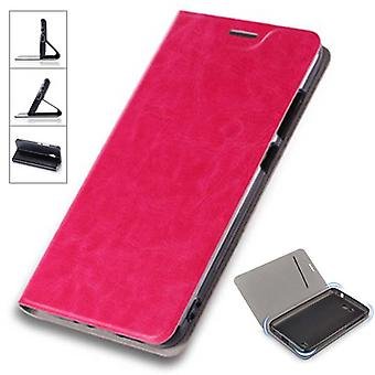 Flip / smart cover Pink for Sony Xperia XZ2 protective case cover pouch bag case new case
