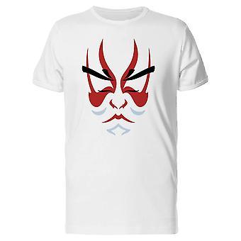 Japanischen Drama Theater Kabuki T-Shirt Herren-Bild von Shutterstock