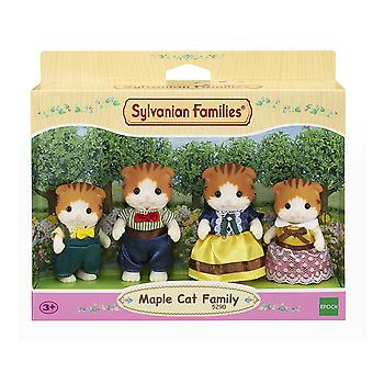 Les familles sylvanian 5290 érable chat famille Figure Set