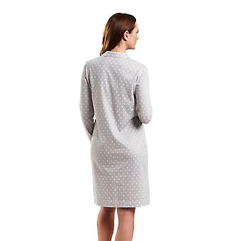 Rösch 1183537-12554 Women's Smart Casual Cloud Grey Spotted Night Gown Loungewear Nightdress