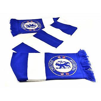 Chelsea FC Official Football Jacquard Bar Scarf