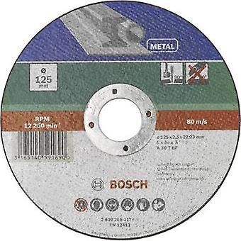 אביזרים בוש A 30 S BF 2609256317 דיסק חיתוך (ישר) 125 mm 22.23 mm 1 pc (עם)