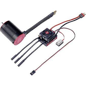 Model car brushless motor kit 1:10 Reely Onroad Combo Turns: 8