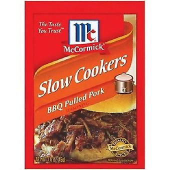 McCormick Slow Cookers BBQ tras de porc Seasoning Mix 1,6 oz pachet