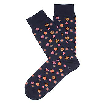 Tresanti Small Flower Design Mens Socks
