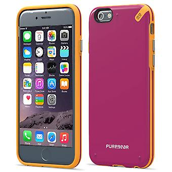 Apple iPhone 6 PureGEAR Slim Shell Case - Sunset Pink