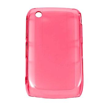Verizon High Gloss étui en Silicone pour BlackBerry 8530, 8520 - rose vif