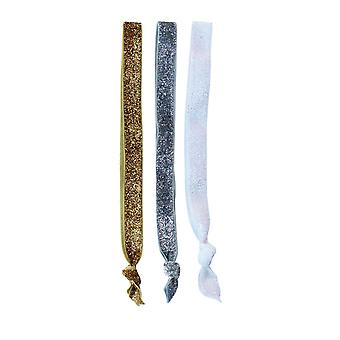 3 Glitter Head Bands