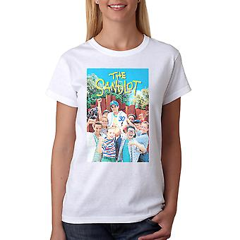 Sandlot Color Poster Women's White T-shirt