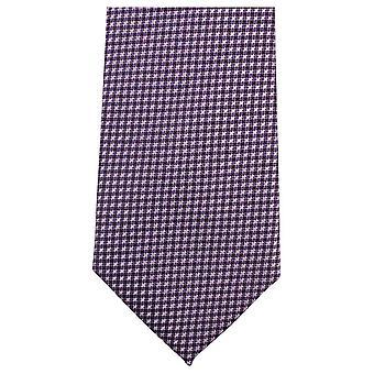 Knightsbridge Neckwear Small Cross Tie - Purple