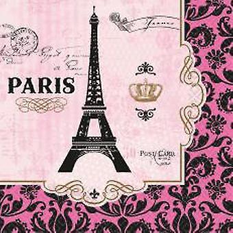 מפיות פריז מגדל אייפל בנאפה 16 יח ' באריזה
