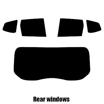 Pre cut window tint - Dacia Duster - 2010 to 2013 - Rear windows