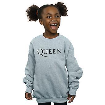Queen Mädchen Mono Logo Sweatshirt