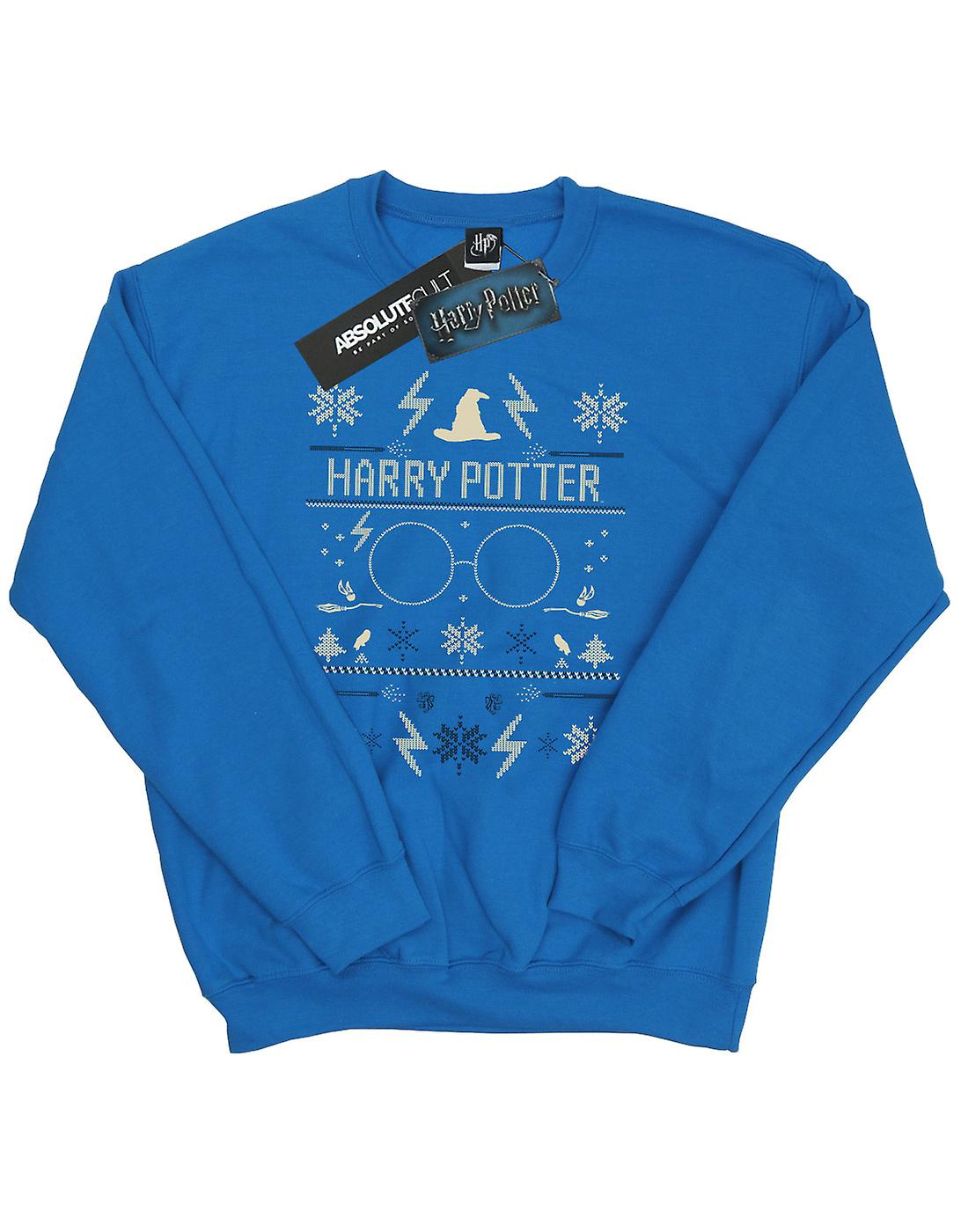 Harry Potter Men's Christmas Pattern Sweatshirt