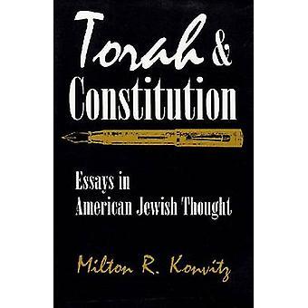 Torah och konstitutionen - uppsatser i amerikanska judiska tanken av Milton R