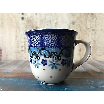 Espresso kopp / barna kopper, maks 60 ml, høyde 5,5 cm, Fleur delikat, BSN A-0745