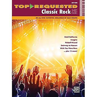 Demandées par les haut Classic Rock partitions: 20 All-Time Favorites (Piano facile) (partitions demandées par dessus)