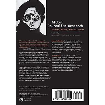 : Mondiale journalistiek theorieën, methoden, onderzoeksresultaten, toekomst