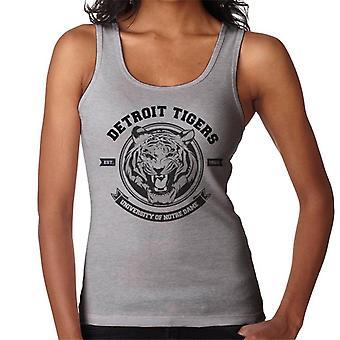 Detroit Tigers Notre Dame University Women's Vest
