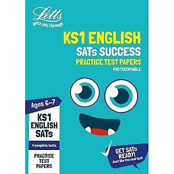 KS1 Engelse SATs praktijk Test Papers (photocopiable uitgave): 2019 proeven (Letts KS1 SATs succes) (Letts KS1 SATs)