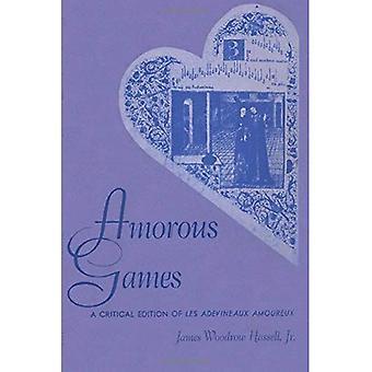 Amorøse spill: En kritisk utgave av Les Adevineaux Amoureux: publikasjonen av American Folklore Society (American Folklore Society bibliografiske og spesielle serien)
