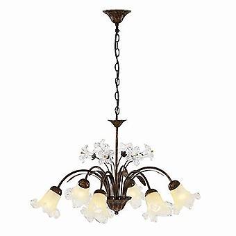 Ideal Lux - Tirol diseño Floral colgante luz seis IDL024486
