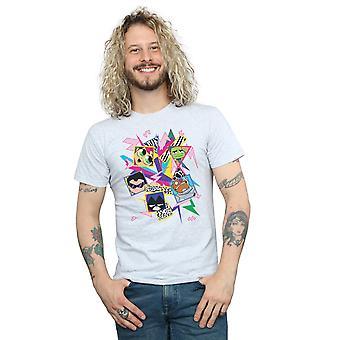 Titãs DC Comics masculino ir de 80 ícones t-shirt