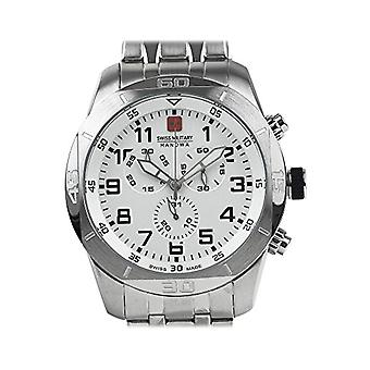 Swiss Military Hanowa Mens Quartz Analogueico Watch with stainless steel band 06-5265.04.001.07