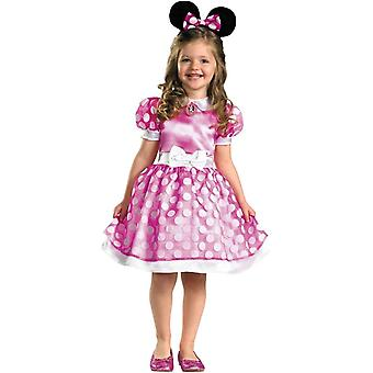 Pink Minnie Mouse Toddlers Costume