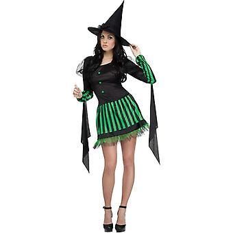Disfraz adulto bruja gothy