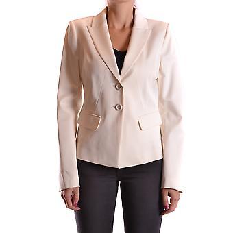 Pinko Ezbc056171 Kvinder's Hvid Viskose Blazer