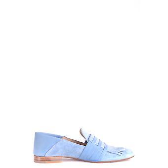 Fratelli Rossetti Ezbc052006 Women's Light Blue Suede Loafers