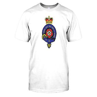Royal Fusiliers insignier Herre T Shirt