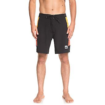 Quiksilver Highline Fade Arch 18 Technical Boardshorts in Black