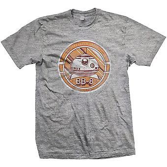 Men ' s Star Wars Episode VII BB-8 afligido T-shirt