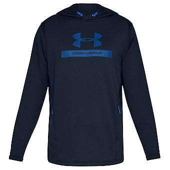 Under Armour Mens UA Terry Graphic Light Fitted Training Hoody
