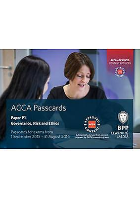 ACCA P1 Governance - Risk and Ethics - Passcards by BPP Learning Media
