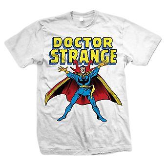Marvel Comics Doctor Strange T-Shirt - White/Blue/Yellow