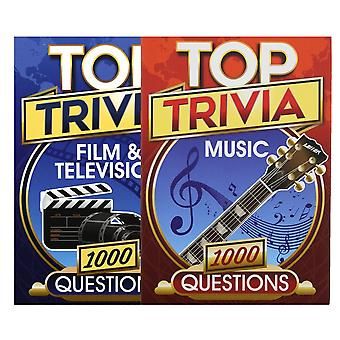 Cheatwell Games Top Trivia Set - Music And Film & Television