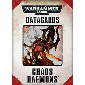 Games Workshop-Warhammer 40.000-datacards: daemons caos